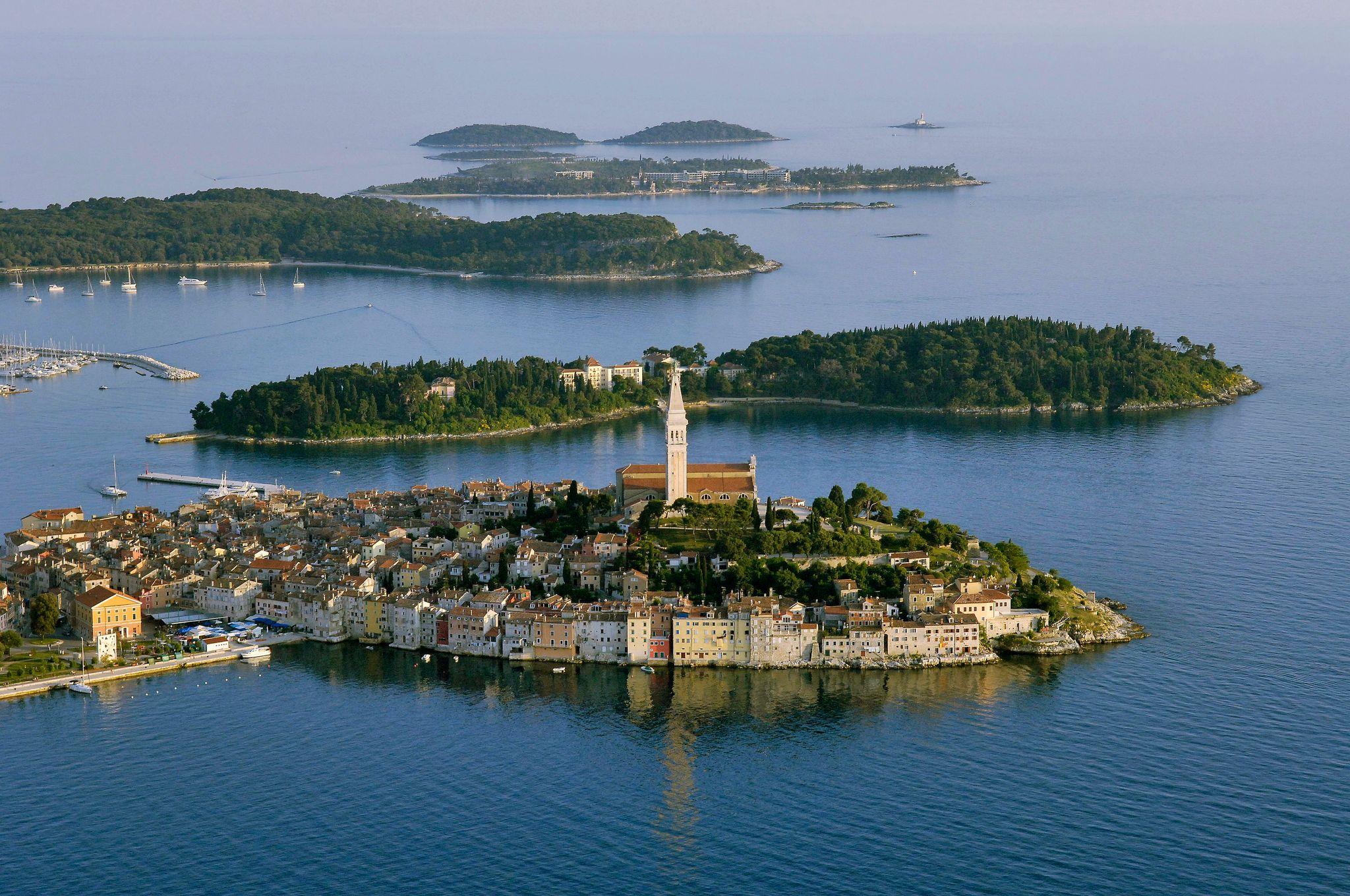 Rovinj, Croatia beautiful seaside town in Istria