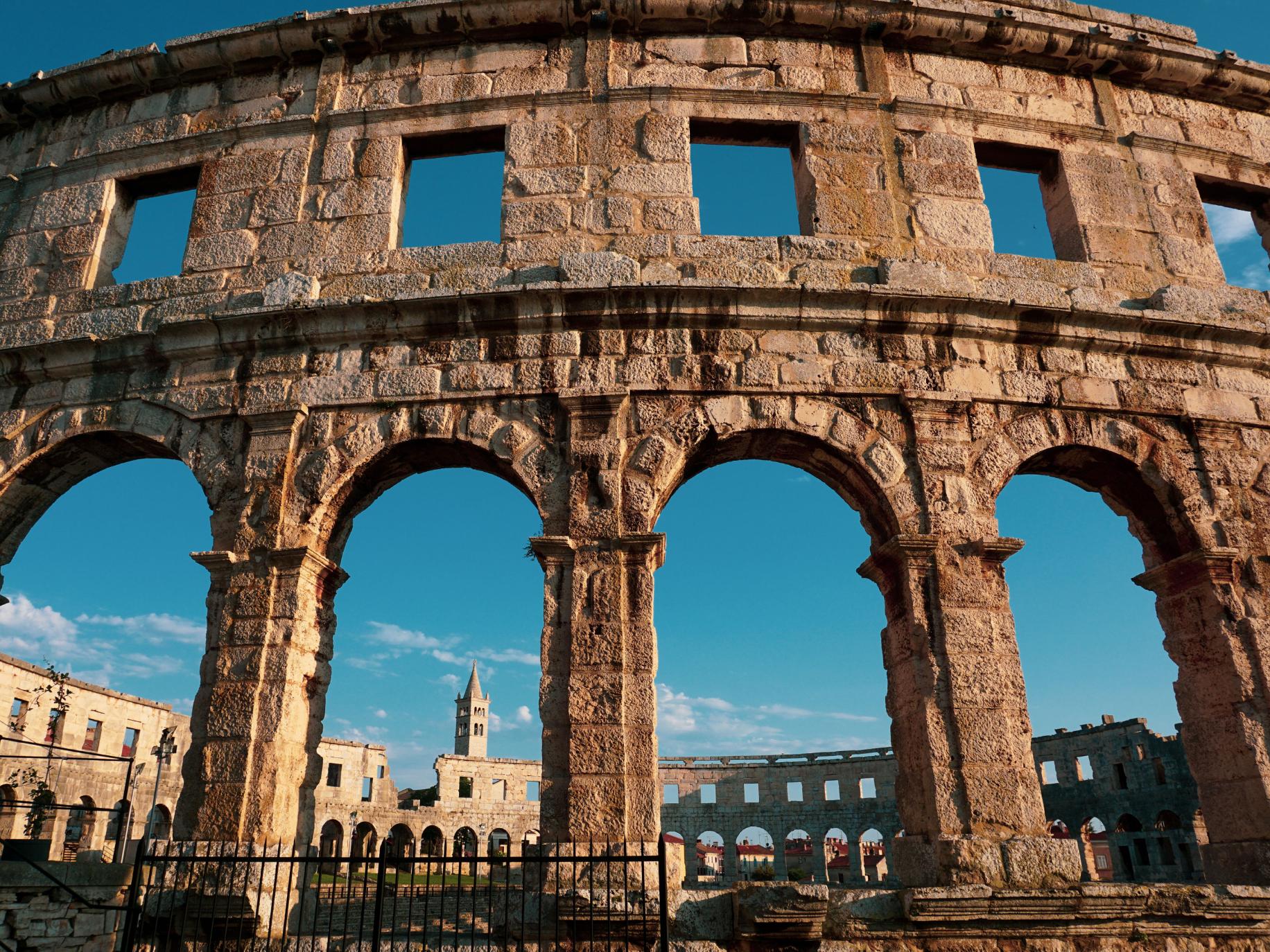 Pula, Croatia Roman Arena