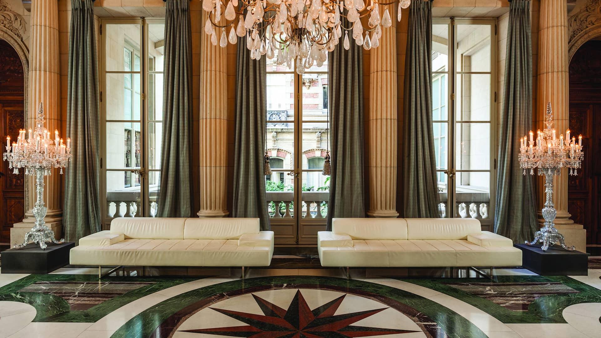 Elegant interior of the Palacio Duhau-Park Hyatt Buenos Aires