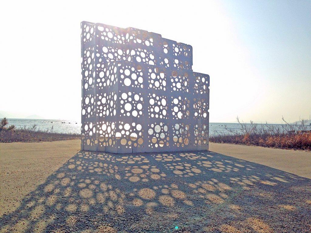 Art Installation on Naoshima Island Japan