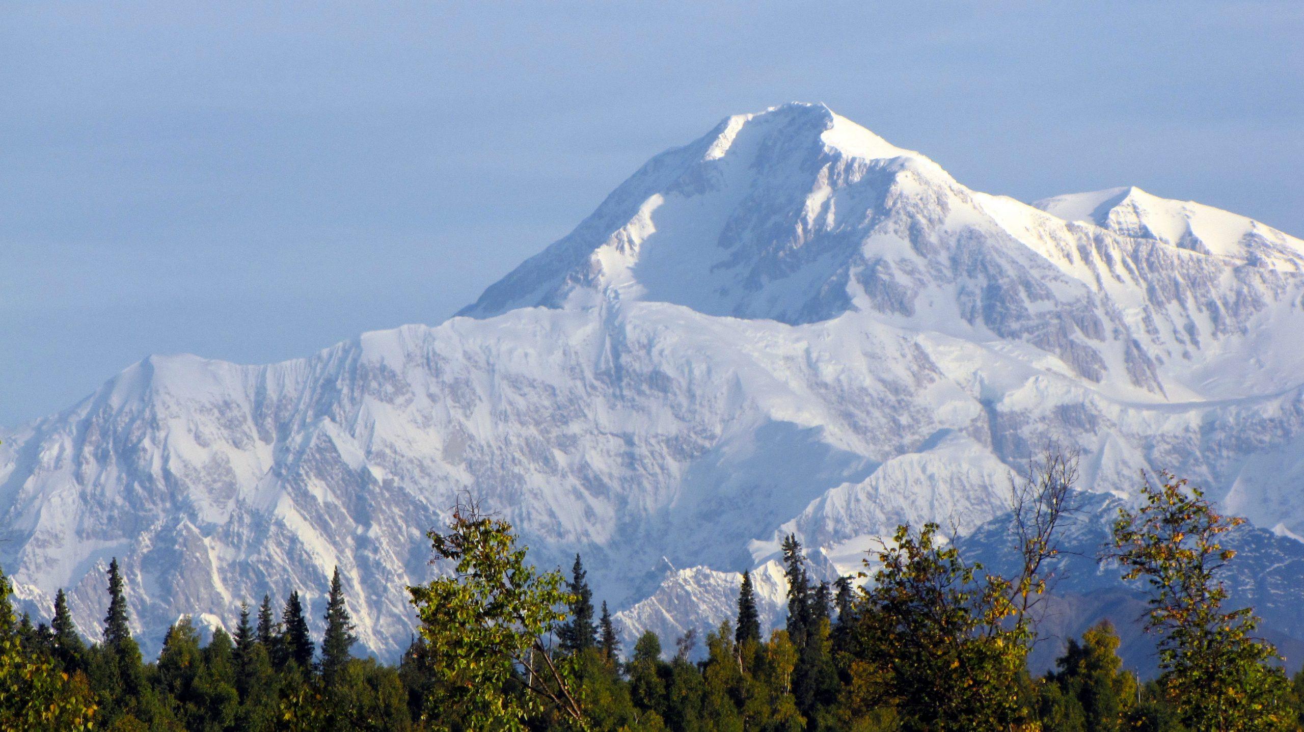 The peak of Denali