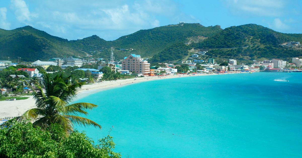 View of Philipsburg, St. Maarten