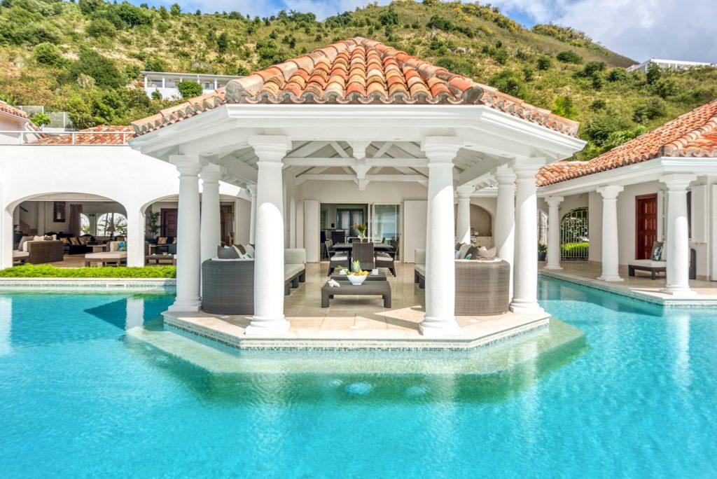 Beautiful villa in Grand Case, St. Martin. Image Villas of Distinction