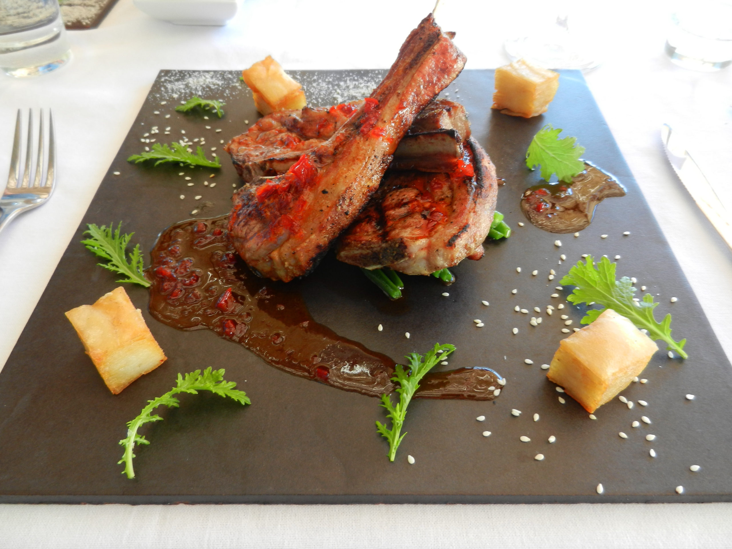 Tantalizing cuisine of South Africa. Image Cindy Dykman