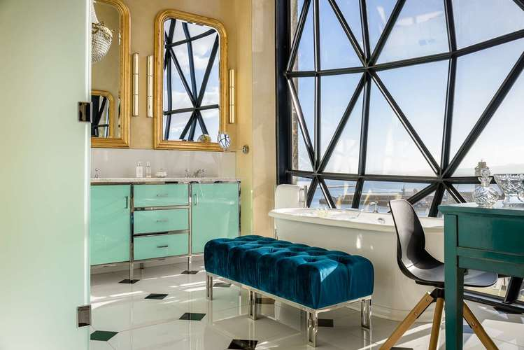 View from The Silo Hotel, Cape Town, South Africa