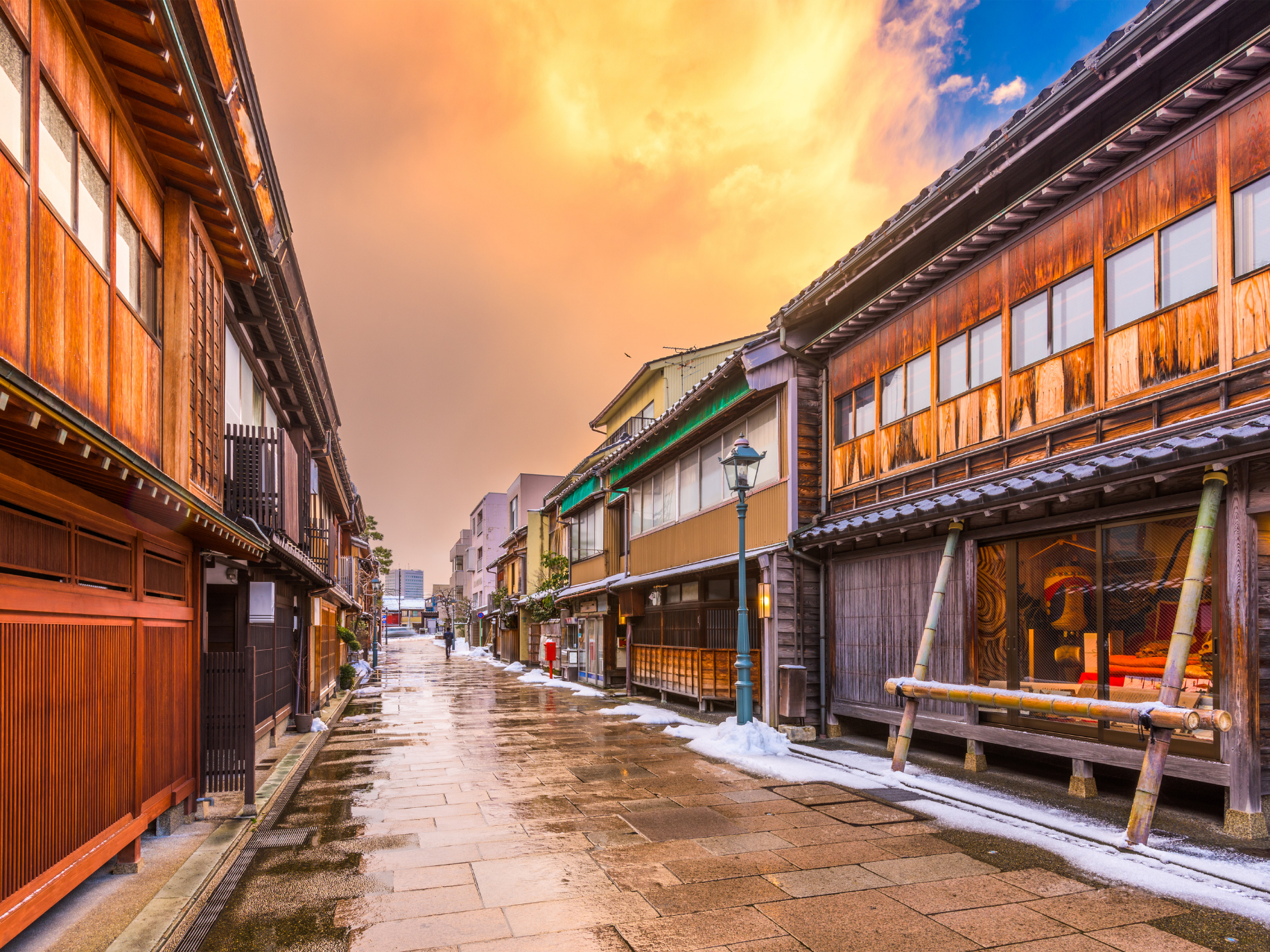 Higashichayagi: Kanazawa's Geisha District