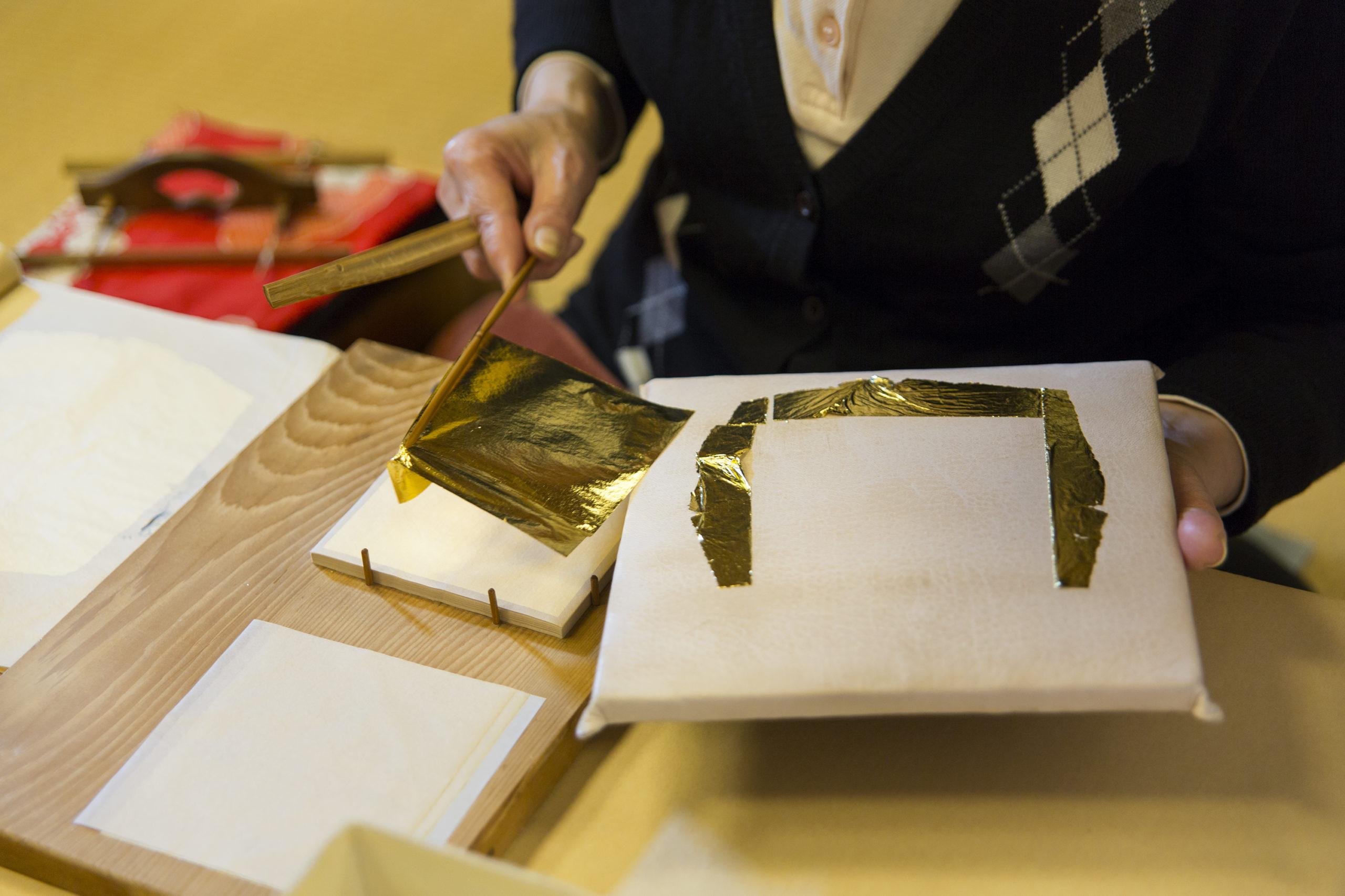 Gold Leaf Making in Kanazawa