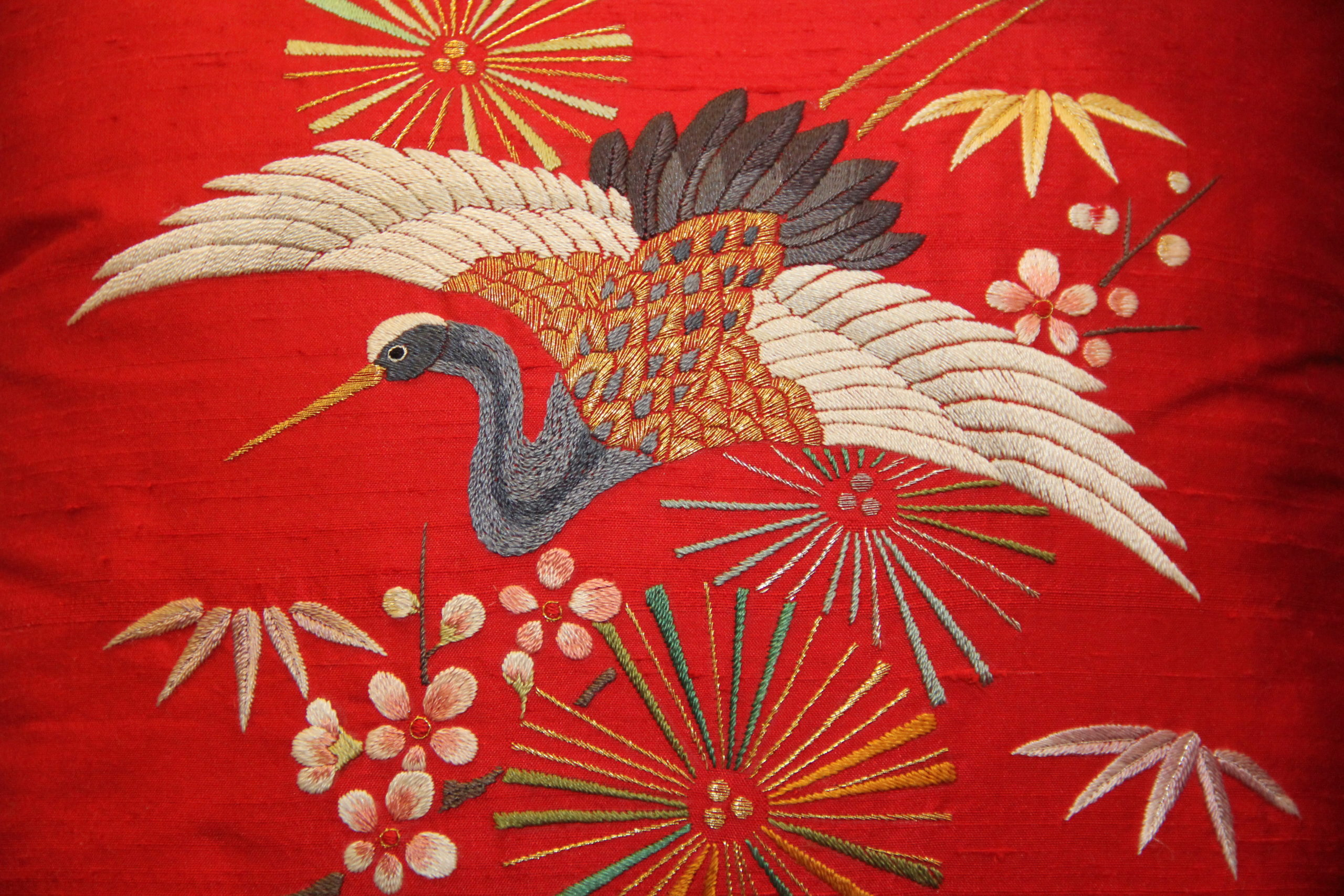Kaga Embroidery at the Ishikawa Prefectural Museum of Traditional Arts & Crafts, Kanazawa, Japan. Image: City of Kanazawa