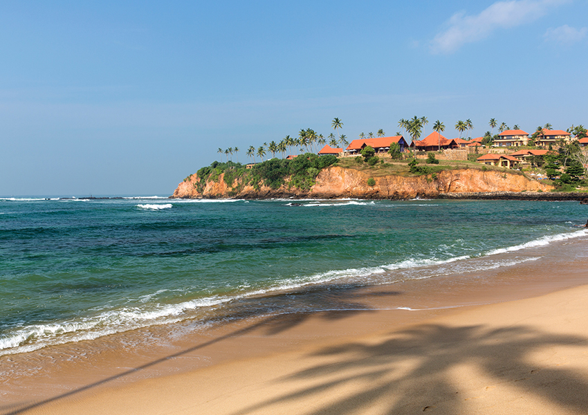 The Beach at Cape Weligama