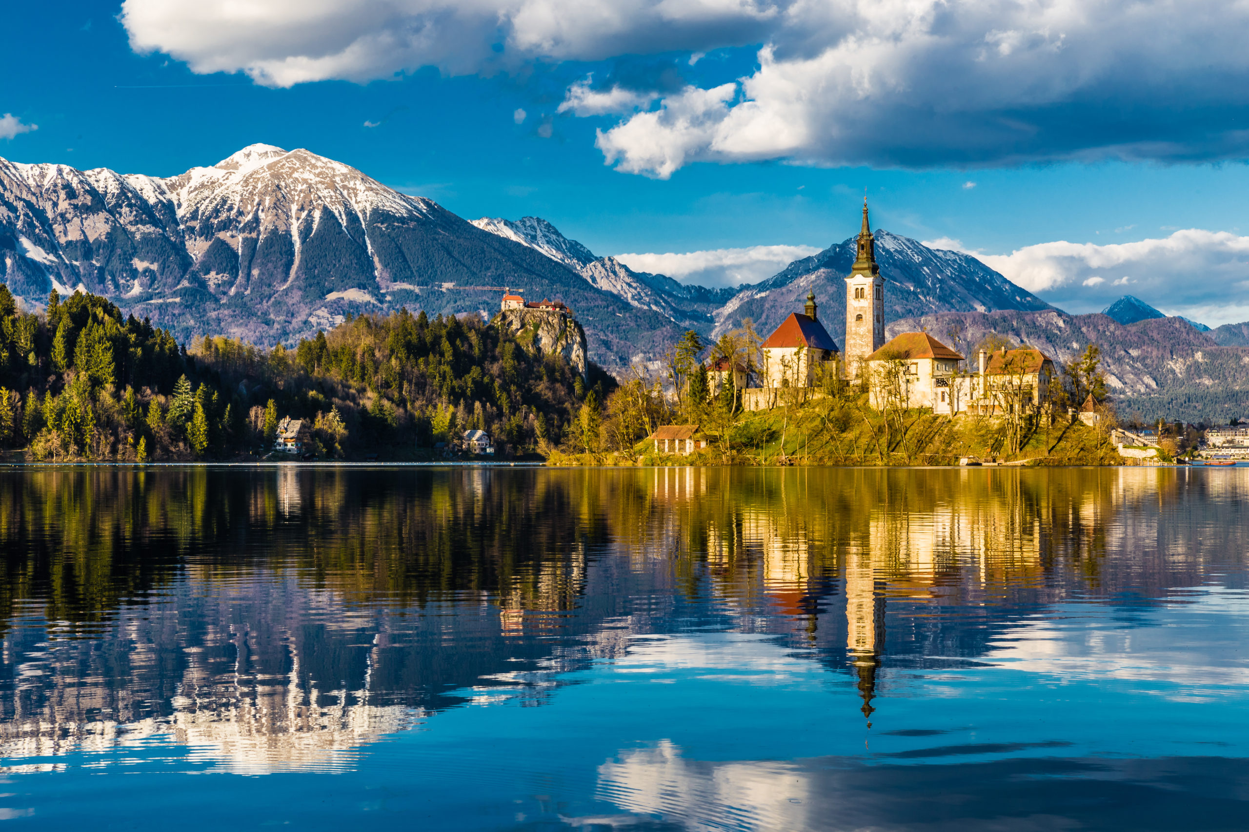 Amazing view of Lake Bled