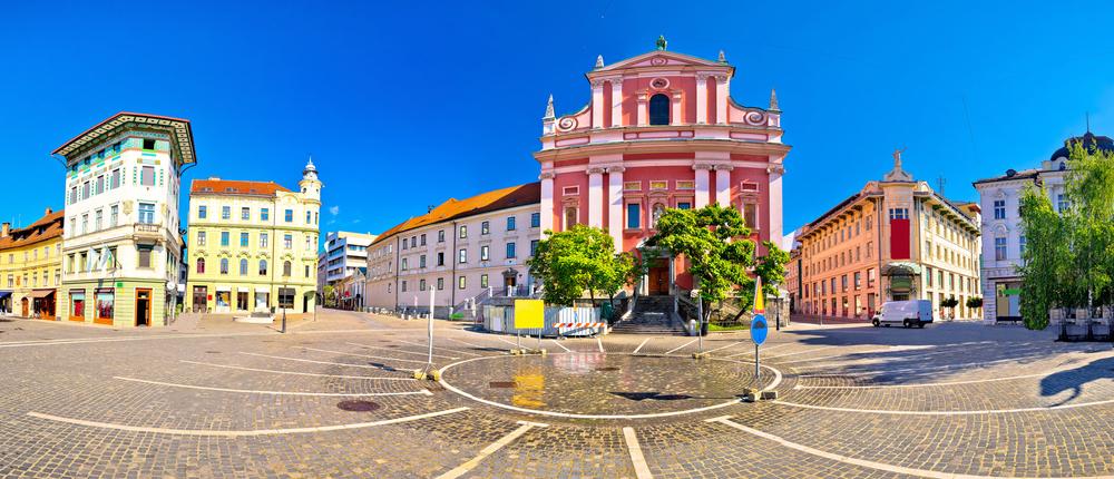 Presern Square, Ljubljana, Slovenia