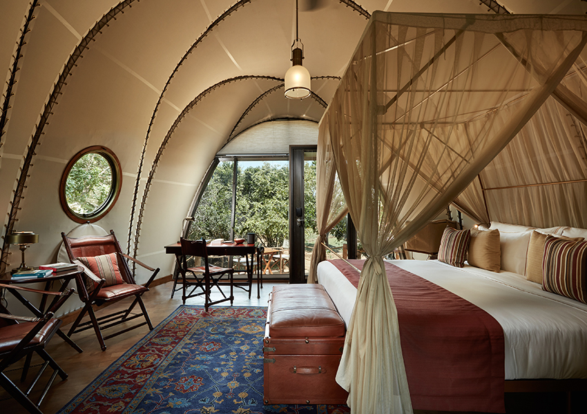 Cocoon at Wild Coast Tented Lodge
