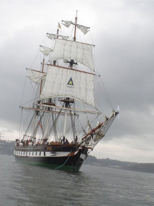 Dunbrody, the Famine Ship Experience. Image Dunbrody Famine Ship Experience