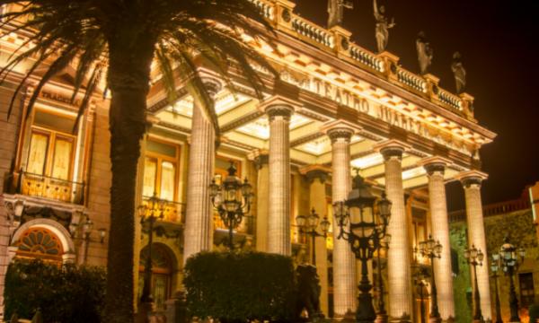 Teatro Juarez, Guanajuato, Mexico