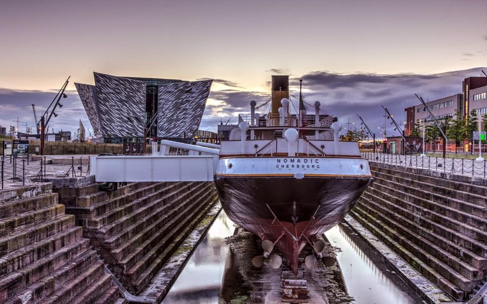 Titanic Belfast Museum. Image Titanic Belfast